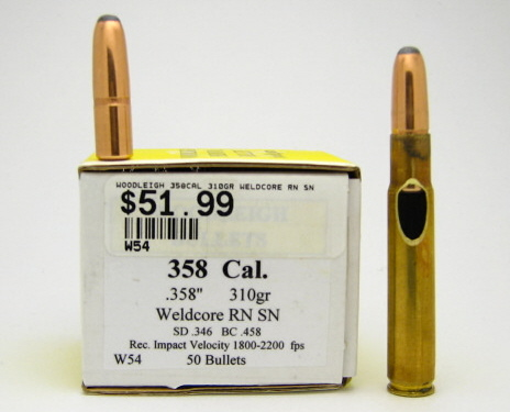 Whelen's Northwoods Trails 35 caliber site - 35 Whelen, 358